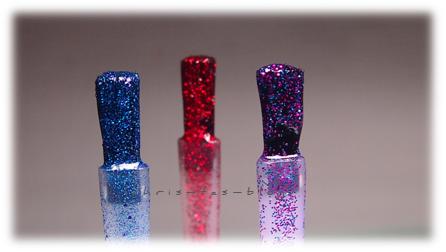 Glitterpartikel wet´n wild Fergie Nail Color