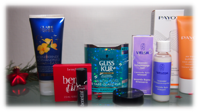 Glossybox unboxing Dezember 2014 Winter Moments
