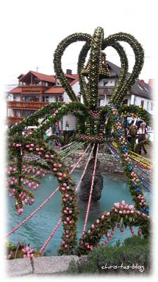 Guiness Weltrekord Osterbrunnen Bieberbach