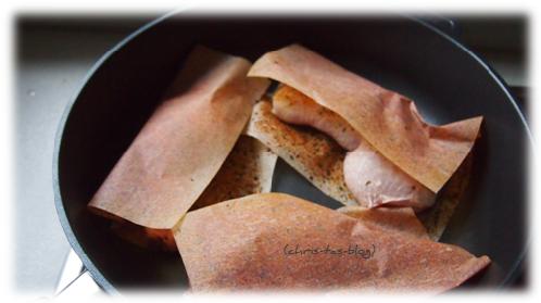 Hähnchenschenkel in Gastrolux-Pfanne