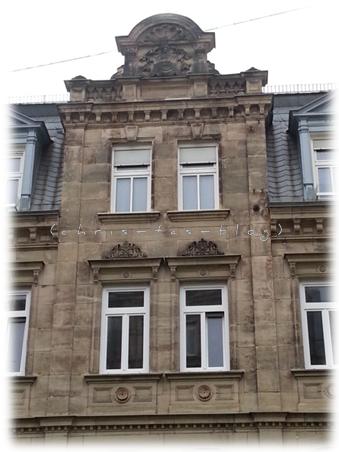 Häuserfassade Fürth Altstadt