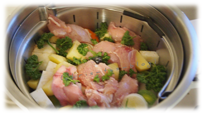 Hühnersuppe im #krupsprepandcook