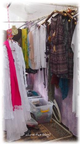 hübsche Mode auf dem Hippie Markt Las Dalias Ibiza