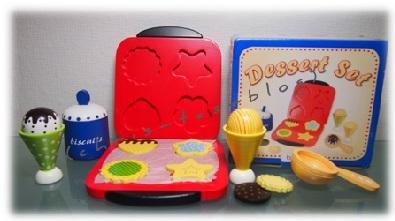 Holzspielzeug Dessert Waffeleisen