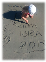 Ibiza 2013 am Strand