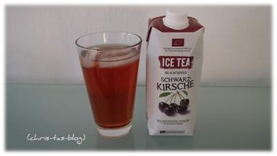 Ice Tea Schwarz-Kirsche Tee Gschwendner