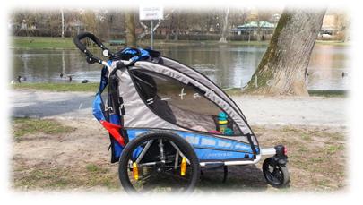 Im Park mit dem Qeridoo sportrex2