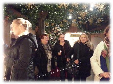 Im Weihnachtsdorf Rothenburg o.d.T. Käthe Wohlfahrt