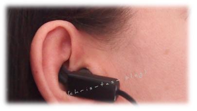 InEars in meinem Ohr