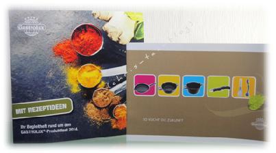 Infos und Rezepte zum großen Gastrolux-Pfannentest 2014