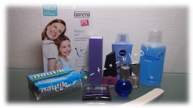 Inhalt der Wundertüte Januar 2015 Hirschel Cosmetik Kosmetik