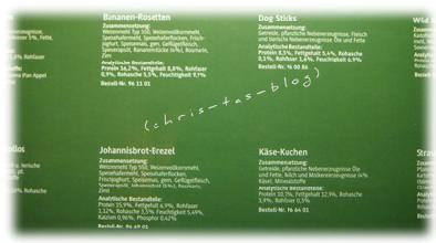 Inhaltsverzeichnis des Hunde-Adventskalender von alsa-hundewelt