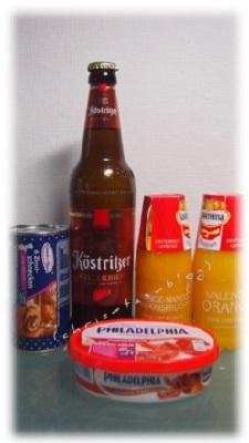 Köstritzer, Valensina, Philadelphia, Knack&Back in der Genießerbox brandnooz