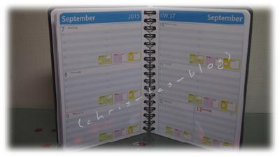 Kalendarium selbst gestalten