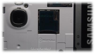 Kartenslot Samsung Galaxy Note II