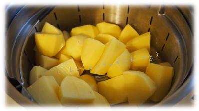 Kartoffeln Dampfgaren