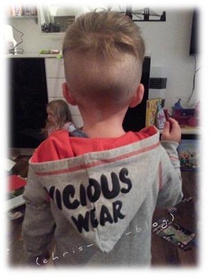 Kinder Pullover Redhead von vicious wear