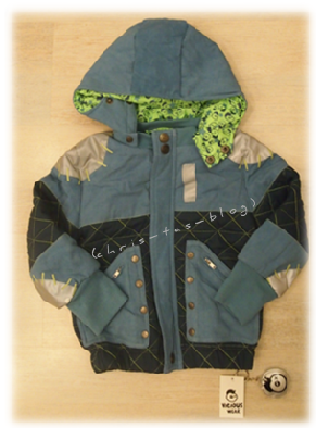 Kinderjacke Bomberman Vicious Wear