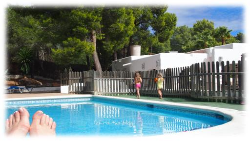 Kinderpool club Cala Llenya Ibiza