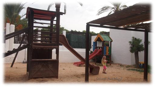 Kinderspielplatz Club Cala Llenya Ibiza