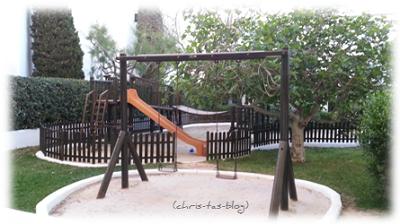 Kinderspielplatz Hotelanlage