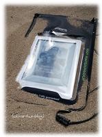 Kindle-Tasche im Sand