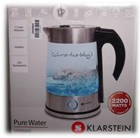 Edelstahl-Wasserkocher von Klarstein