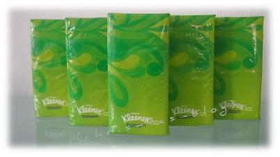 Kleenex Taschentücher