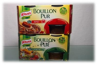 Knorr Bouillon Rind und Gemüse