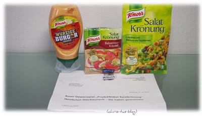 Knorr Produktpaket gewonnen