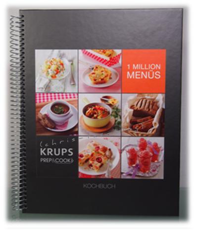 Krups Prep & Cook Kochbuch