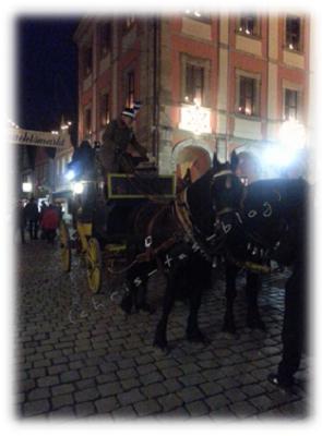 Kutschfahrten auf dem Weihnachtsmarkt Neustadt Aisch