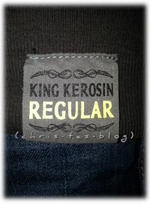 Label Hoodie King Kerosin