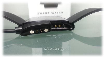 Ladegerät der Pebble Smartwatch