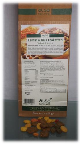 Lamm & Reis Kroketten für Hunde