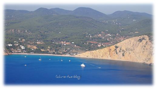 Landeanflug Ibiza