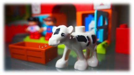 Lego® Duplo® Spielfigur Bauernhof