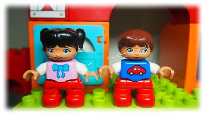 Lego® Duplo® Spielfiguren