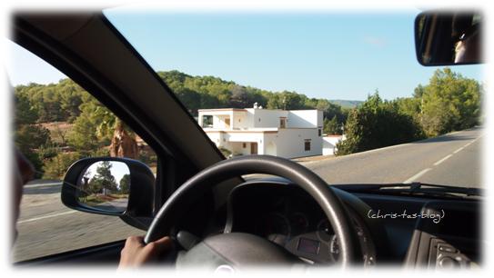 Leihwagen auf Ibiza