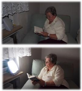 Lichttherapiegerät von Davita