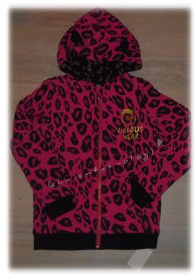 Mädchen Kapuzenjacke Pink Panther