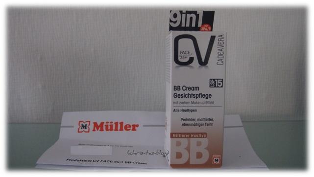 Müller BB Cream mittlerer Hauttyp