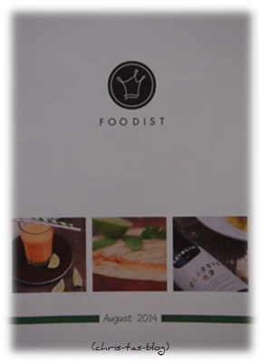 Magazin in der Foodist Box August 2014