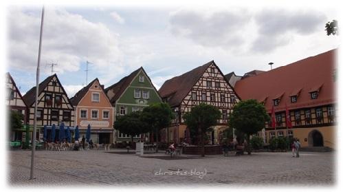 Marktplatz in Neustadt a.d. Aisch