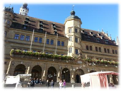 Marktplatz in Rothenburg o.d. Tauber