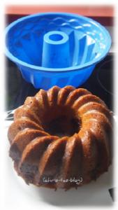 Marmorkuchen - leicht aus der Silikonform gelöst