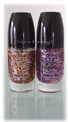 Mega Rocks Glitter Nail Colors