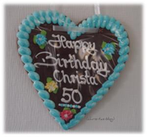 Mein 50. Geburtstag