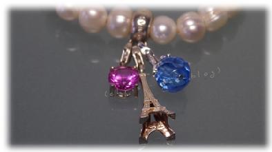 Mein Perlenarmband mit hübschen Charms