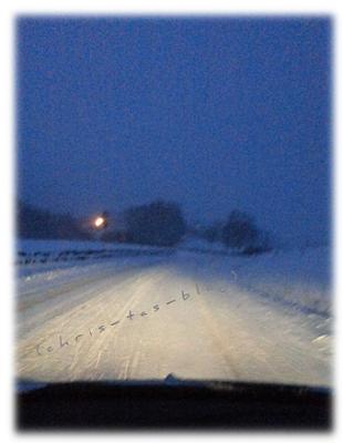 Mein Weg zur Arbeit im Schnee Januar 2015